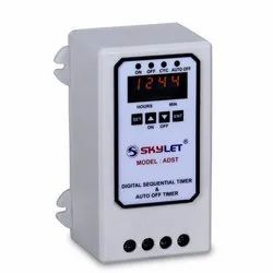 Digital Sequential Timer & Auto Off Timer (ADST)