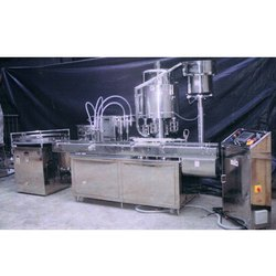 Fully Automatic Bottle Liquid Filling Line