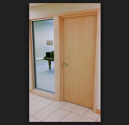 Standard Wooden Acoustic Door, SM6 Corporation | ID: 16696102055