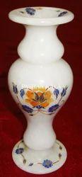 Marble Inlaid Vase
