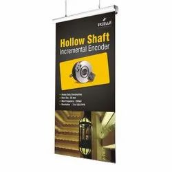 Hanging Roll Up Banner For Promotion