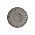 Grey Hard Plastic Small Tricycle Wheel
