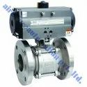 Aira 3 Piece Pneumatic Ball Valve, Model: 3pbv-01, Size: 1/2 To 14 Inch