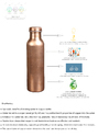 100% Pure Copper Water Bottles