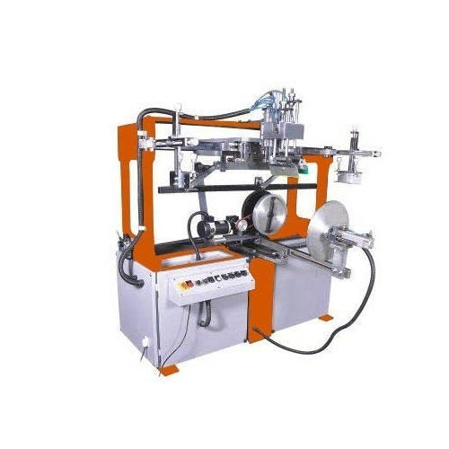 Automatic Bucket Round Screen Printing Machine