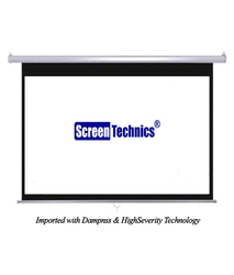 Deluxe Screen Technics 6X8 Instalock Projector Screen HD 3D 4k Technology Supports