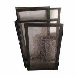 2- 4 Feet Aluminium Rectangular Net Window