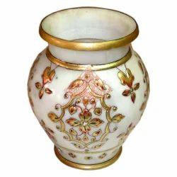 Marble Matki Pot