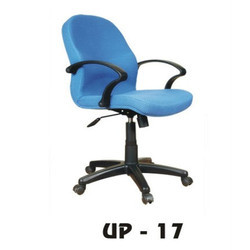 Low Back Blue Office Chair