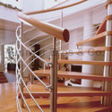Stainless Steel Spiral Staircases