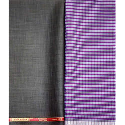 100% Cotton Plain Gwalior Pant Shirt Nano Fabric, GSM: 100-150