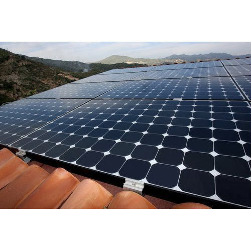 Monocrystalline Silicon Solar Panel, Warranty: Upto 1 Year*, Rs 35 /watt |  ID: 18093436530