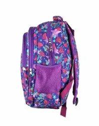 Heart Printed School Bags