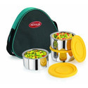 Esteelo X-3 Stainless Steel Insulated Lunch Pack