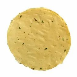 Round Garlic Papad