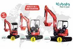 New Kubota Mini Excavator
