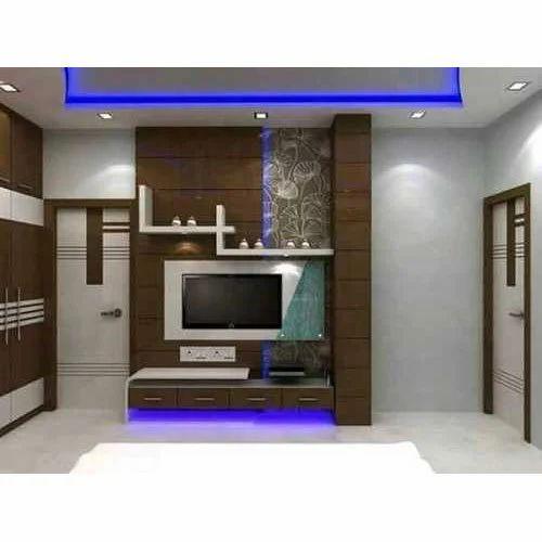Wood Frame Tv Wall Unit Rs 18000 Unit Sunil Furniture Id