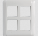 White 8m Cover Frame