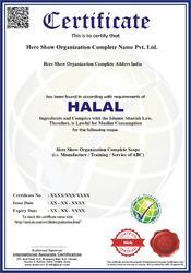 HALAL Certification and Consultancy Service