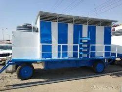 FRP 10-seater Toilet Van