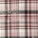 Yarn Dyed Checks Embroidery Fabric