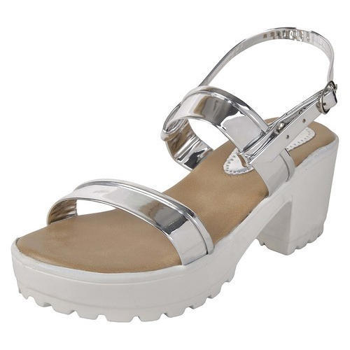 67bb2851fd8c Women Stylish Silver Sandals at Rs 245  pair