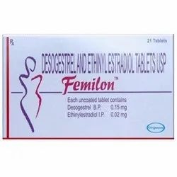 Desogestrel And Ethilyestradiol Femilon Tablet USP
