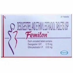 Desogestrel And Ethilyestradiol Femilon Tablet USP