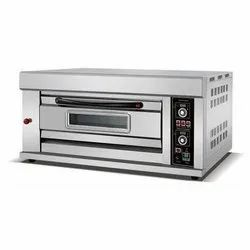 1 Deck With 1 Tray Modern Stone Bakery Gas Oven