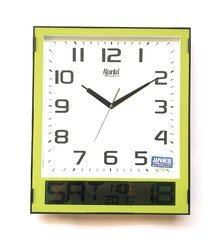 Ajanta Analog and Digital Wall Clock