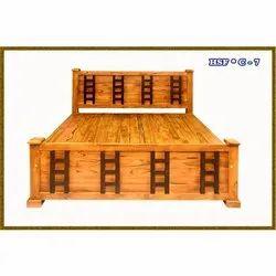 Modular Wooden Cot