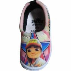 Jasch PVC Pokemon Printed Kids Shoes