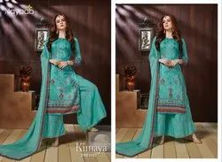 Nayaab Embroidered Churidar Suit