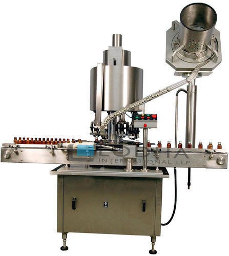Lodha Automatic Multi Head ROPP Cap Sealing Machine, LI-BCS 4R