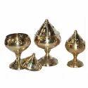 Brass Pooja Diya (Goblet / Akhand Diya)