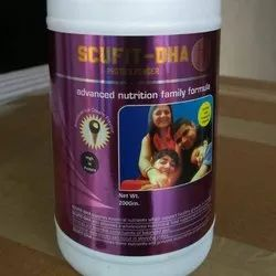 Protein Powder With Dha  Biotin (American Ice Cream Flavour) Can