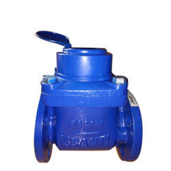 Kranti, Belanto Stainless Steel Kranti Flange End Water Meter, For Industrial, Size (Inch): 2