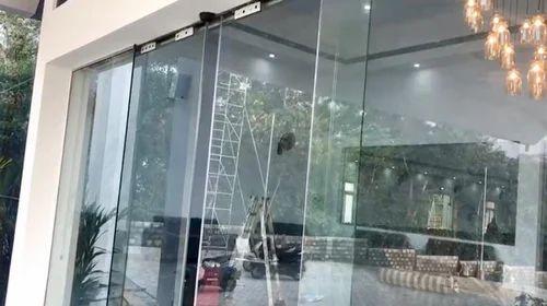 Aluminium Automatic Glass Door For Entrance Rs 76500 Unit Bright Agencies Id 14367725230