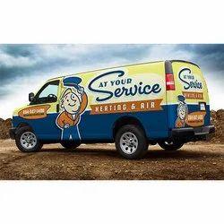 Mobile Van Advertising Service