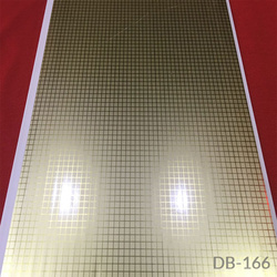 DB-166 Silver Series PVC Panel