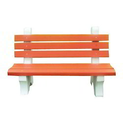 Color Cement Bench