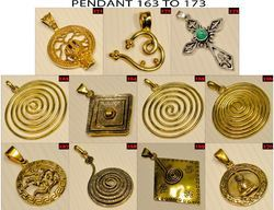Brass Pendent