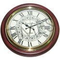 Times Creation Brown Antique Wall Clock, Model No.: Tcil-7029, Packaging Type: Corrugated Box