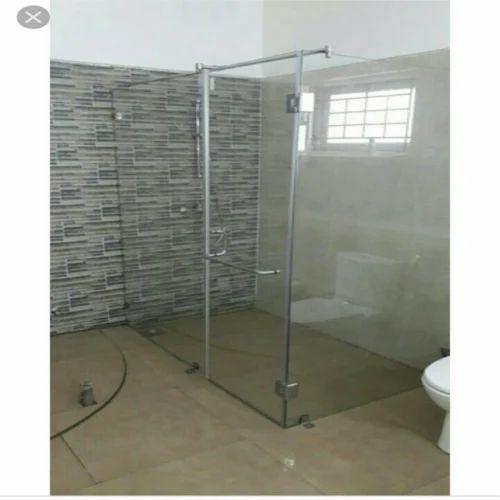 Popular Flat Glass Shower Cubicle For Bathroom Ideas - Minimalist 5 foot shower doors Lovely