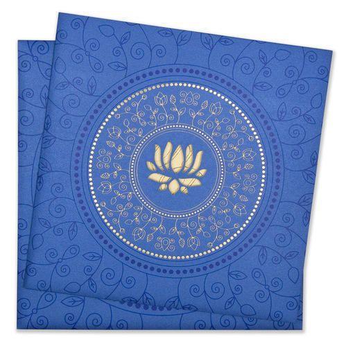 paper lotus wedding invitation card rs 25 piece jimit card id