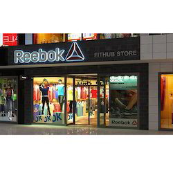 Retail Shop Exterior 3D Design