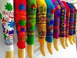 Churidar Embroidered Leggings