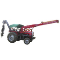Lamba Agroking Tractor 3 Point Post Hole Digger