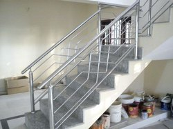 Polished Steel Railings