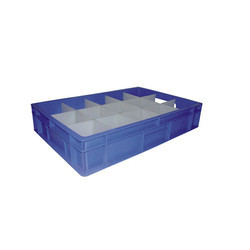 Blue Fabricated Crates